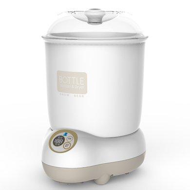 小白熊奶瓶蒸汽消毒器 帶烘干液晶版嬰兒消毒鍋( HL-0871)