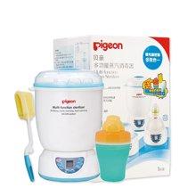 (赠送水杯和杯刷)贝亲 多功能蒸汽消毒锅婴儿奶瓶消毒器暖奶器温奶器二合一不带烘干    PL266