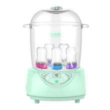 【顺丰包邮】小壮熊婴儿奶瓶消毒器温奶宝宝蒸汽消毒锅柜带烘干暖奶功能二合一