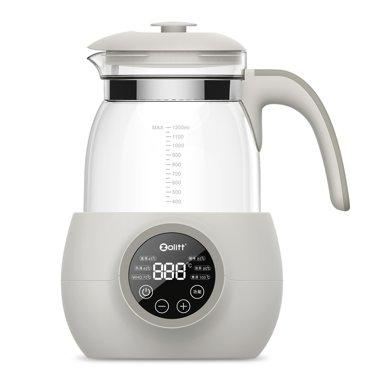 zolitt嬰兒泡奶智能恒溫水壺寶寶調奶電熱水壺玻璃自動保溫溫奶器