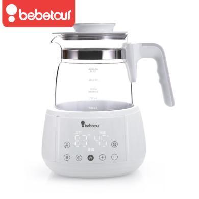 Bebetour液体加热器(恒温调奶器)T13恒温调奶器婴儿冲奶机泡奶粉保温电热水壶自动智能暖奶器1300mL