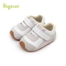 巴贝乐babelos新款春秋季软底防滑宝宝鞋羊皮学步鞋男女婴儿室内鞋0-1-2岁B31712068