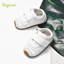 巴贝乐babelos新款秋季羊皮宝宝鞋防滑婴儿鞋软底学步鞋步前鞋0 1 2岁B11812114
