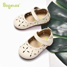 巴贝乐babelos秋季新款宝宝鞋防滑学步鞋幼儿园演出鞋软底小皮鞋0 1 2岁B11810112