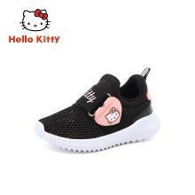 HelloKitty童鞋女童春夏新款兒童運動款學生休閑鞋寶寶網面跑步鞋K9513839