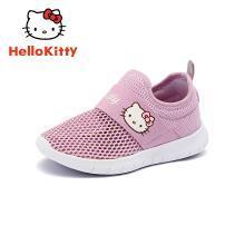 HelloKitty凱蒂貓童鞋2019春夏新款小女孩透氣運動鞋中大童休閑鞋K9513833