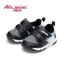 阿福貝貝新款女童鞋春季寶寶鞋1-3歲嬰兒學步鞋透氣網布機能鞋子A9113