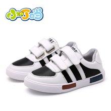 小叮当儿童运动鞋秋季新品韩版男童休闲板鞋个性校园学生鞋A6111/B6111