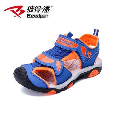 彼得潘童鞋新款兒童涼鞋男夏季新款中大童學生涼鞋男童沙灘鞋P922