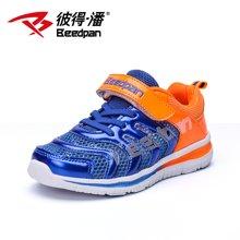 彼得潘童鞋 夏季新款男童跑步鞋韩版休闲鞋子儿童透气运动鞋P537