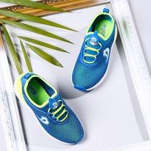 小叮当童鞋夏季韩版学生运动跑步鞋2018新款儿童休闲鞋子透气网鞋D781767