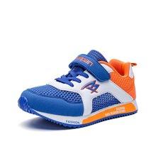 彼?#38376;?#31461;鞋夏季新款儿童运动鞋男童?#38041;?#32593;鞋韩版中大童休闲鞋P8012