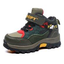 史努比童鞋冬款保暖男童户外鞋 S6410303
