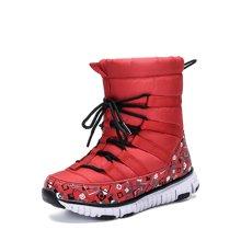 彼得潘童鞋冬季新款男童雪地靴儿童棉鞋保暖中筒靴P8058