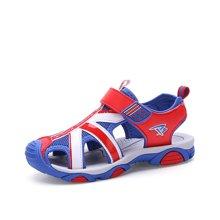 彼得潘童鞋儿童运动鞋童鞋凉鞋新款夏季中大童沙滩鞋小学生男孩童鞋儿童包头凉鞋P6072