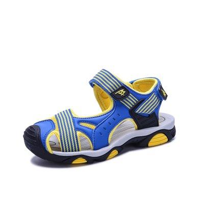 彼得潘男童涼鞋新款韓版夏季中大童2017男孩沙灘鞋子男兒童包頭涼鞋P8081
