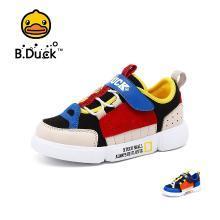 B.Duck小黃鴨童鞋男童運動鞋2019新款男孩休閑潮鞋兒童運動鞋B1083910