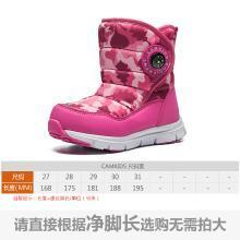 camkids儿童雪地靴男童新款冬季防水加绒小童宝宝棉靴女童靴