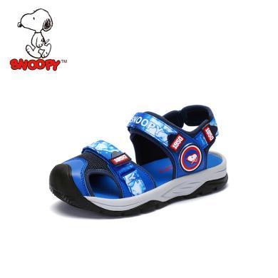 史努比童鞋男童涼鞋包頭防踢2019夏季新款兒童涼鞋防滑S9125733