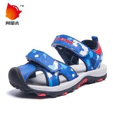阿童木童鞋兒童涼鞋男童包頭新款韓版夏季寶寶軟底中大童運動