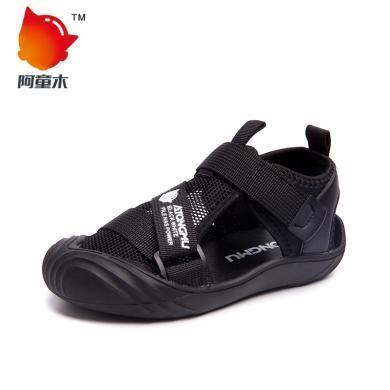 阿童木童鞋男童凉鞋夏季新款包头中大童儿童凉鞋?#20449;?#31461;沙滩鞋