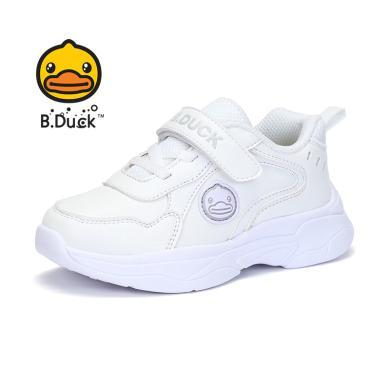 B.Duck小黄鸭儿童运动鞋男童女童鞋子秋季新款中大童休闲鞋B3083934