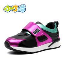 小叮当女童运动鞋秋季新品韩版休闲旅游鞋中小童学生跑步鞋DA80639/739