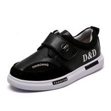 小叮当儿童休闲运动鞋秋季新款男童学生跑步鞋校园休闲小板鞋DM733229