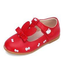 HELLO KITTY童鞋女童春季公主鞋女童皮鞋学生皮鞋浅口单鞋K7638803
