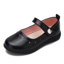 HELLO KITTY童鞋女童2018春季新款公主鞋女童皮鞋学生皮鞋浅口单鞋K8615802