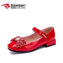 彼得潘女童皮鞋新款女孩公主鞋儿童表演鞋黑色皮鞋休闲单鞋P7006