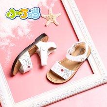 小叮當女童涼鞋夏季新款防滑軟底韓版公主鞋平底透氣兒童鞋子DB80902