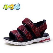 小叮当男童凉鞋2018夏季新款韩版儿童沙滩鞋学生校园露趾潮流鞋子DB80910