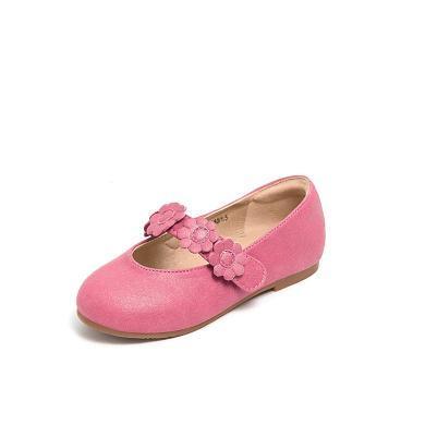 斯納菲童鞋 女童皮鞋 公主鞋兒童豆豆鞋 兒童單鞋18815