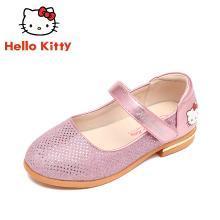 HelloKitty童鞋女童公主皮鞋新款小女孩休闲鞋单鞋K8638301