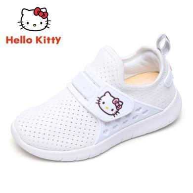 Hello Kitty童鞋女童春夏新款儿童运动鞋小女孩网面休?#34892;?#28526;K8513803