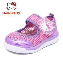 HelloKitty童鞋女童運動鞋夏新款兒童潮流透氣單網鞋女童休閑鞋K7523805