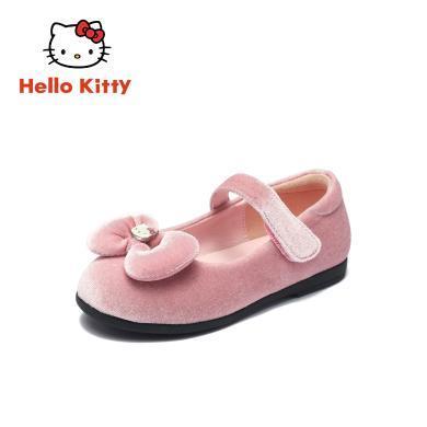 HelloKitty女童鞋凱蒂貓女童公主鞋2019秋新款兒童單鞋K9638801