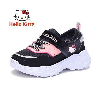 HelloKitty女童鞋凱蒂貓女童運動鞋2019秋新款透氣舒適兒童休閑鞋潮K9533003