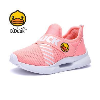B.Duck小黃鴨兒童運動鞋女童男童鞋子2019秋季新款中大童運動鞋休閑鞋B3083004