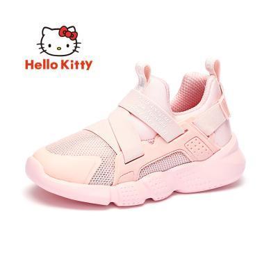 HelloKitty女童鞋凱蒂貓女童運動鞋2019秋新款透氣舒適兒童休閑鞋潮K9533893