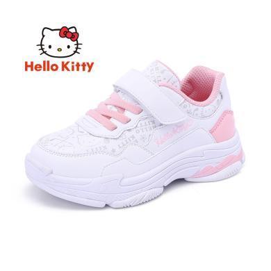 HelloKitty女童鞋凱蒂貓女童運動鞋秋新款透氣舒適兒童休閑鞋潮K9533801