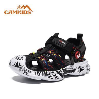 camkids垦牧男童鞋夏季新款中大童户外凉鞋儿童沙滩鞋韩版女