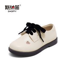 斯纳菲女童皮鞋 时尚韩版公主鞋 2019秋季新款中大童宝宝儿童单鞋19817
