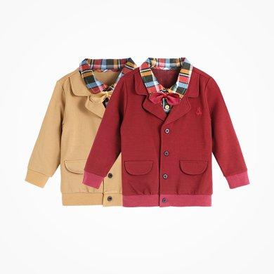 丑丑嬰幼 男童前開外套春秋時尚小紳士長袖上衣 CGE228X