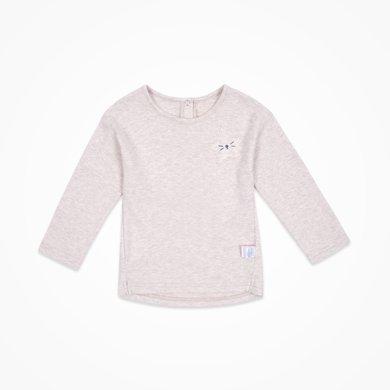 丑丑嬰幼春秋新款1-3歲男寶寶可愛純棉時尚百搭長袖圓領T恤上衣CJE227X