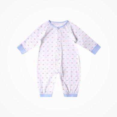 丑丑嬰幼 男女寶寶純棉前開哈衣嬰幼兒四季長袖哈衣、連體衣、爬服CJD015X