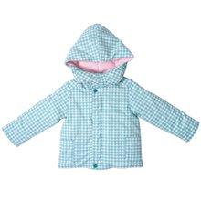 丑丑婴幼 男女宝宝夹棉外套冬季男女童连帽休闲保暖棉衣外套 1-4岁