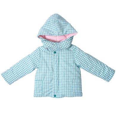 丑丑嬰幼 男女寶寶夾棉外套冬季男女童連帽休閑保暖棉衣外套 1-4歲