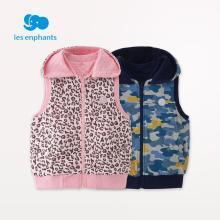 丽婴房童装男女童双面穿马甲儿童柔软舒适外套上衣2018秋装新款